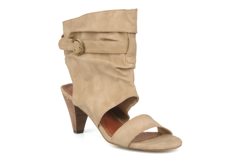 Sandales et nu-pieds Spot On Marila Beige vue détail/paire