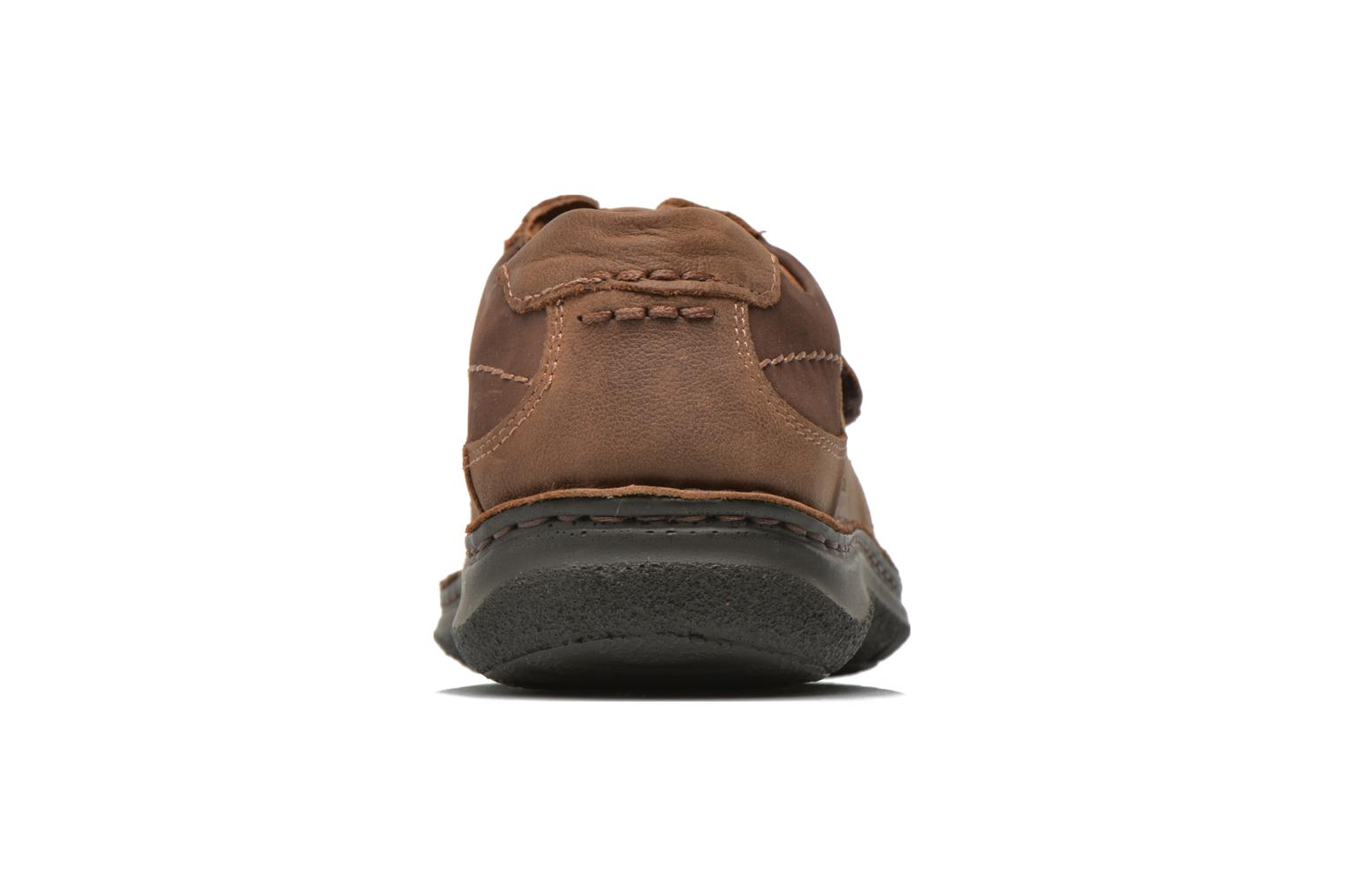 Velcro shoes Josef Seibel Alec Brown view from the right