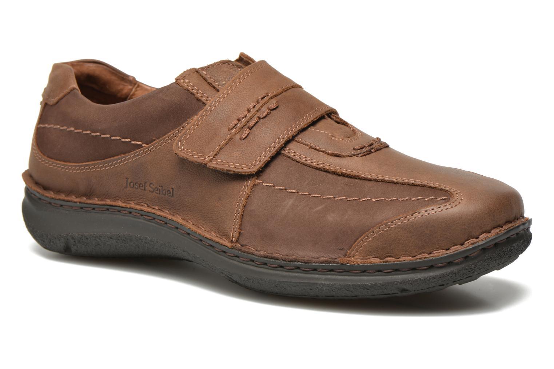 Velcro shoes Josef Seibel Alec Brown detailed view/ Pair view