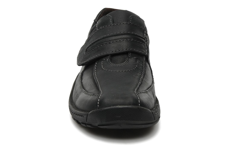 Schnürschuhe Josef Seibel Arthur schwarz schuhe getragen
