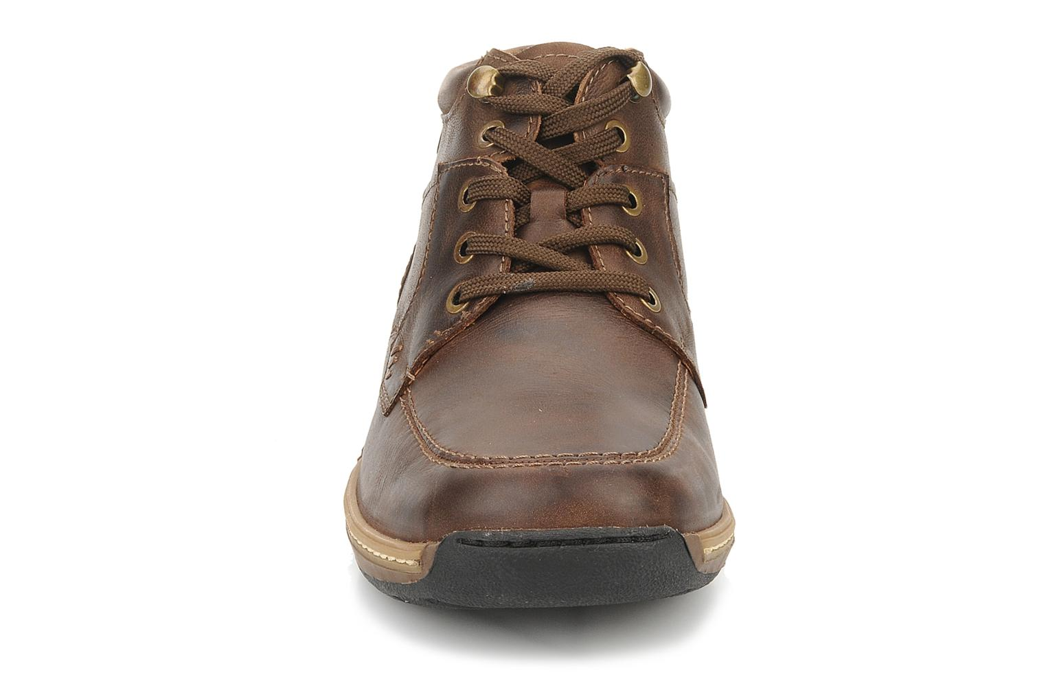 Ankle boots Pikolinos Seattle 5577f Brown model view