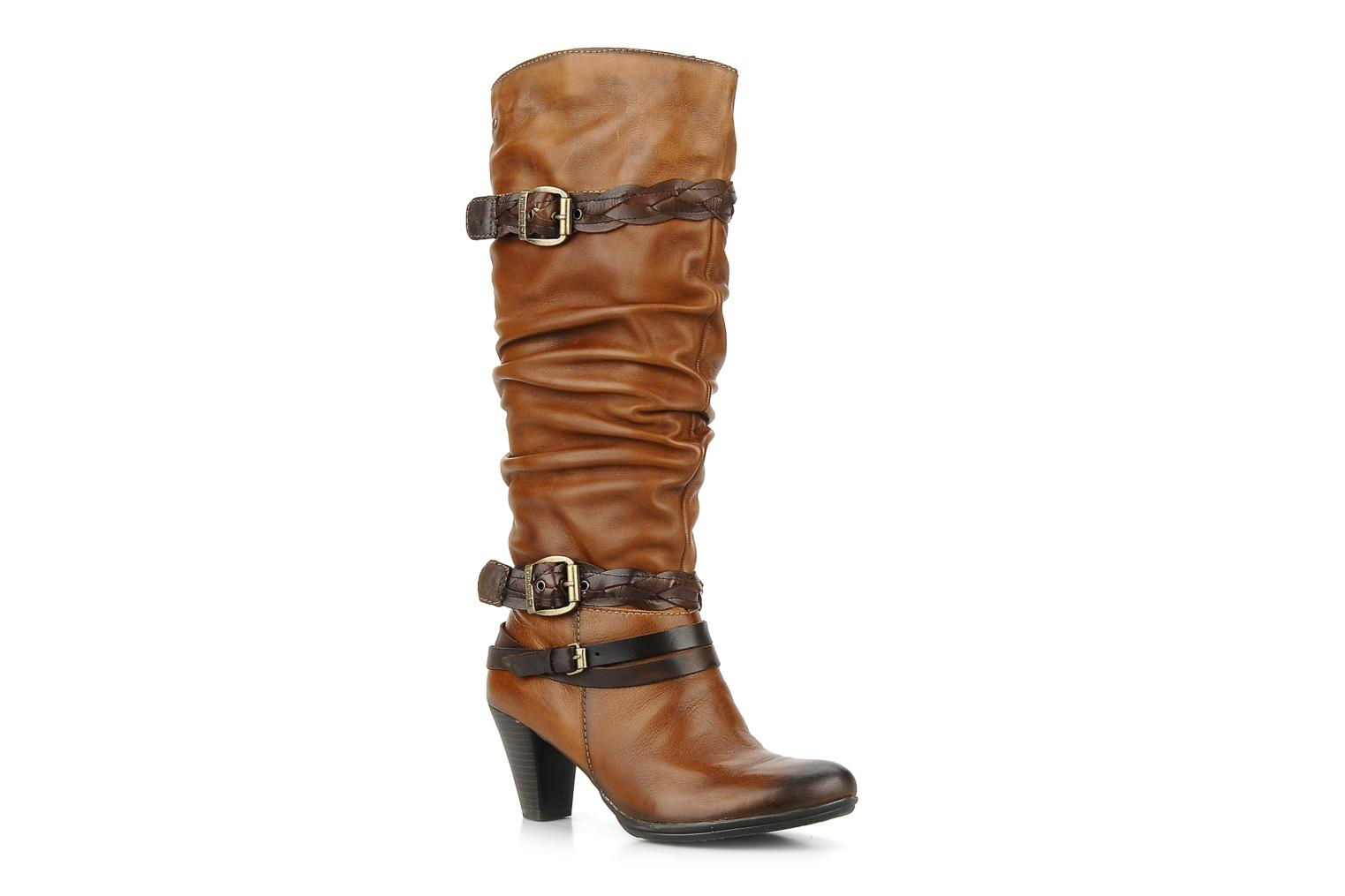 Boots & wellies Pikolinos Verona 8563 Brown detailed view/ Pair view