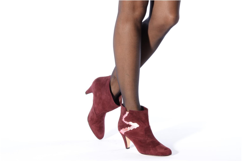 Bottines et boots Patricia Blanchet Jessica Bordeaux vue bas / vue portée sac