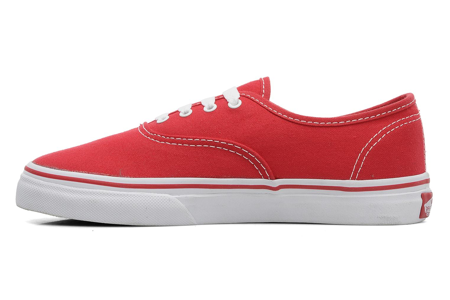 Trainers Vans Authentic E Red front view