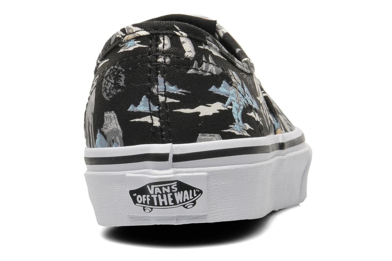Trainers Vans Authentic E Multicolor view from the right