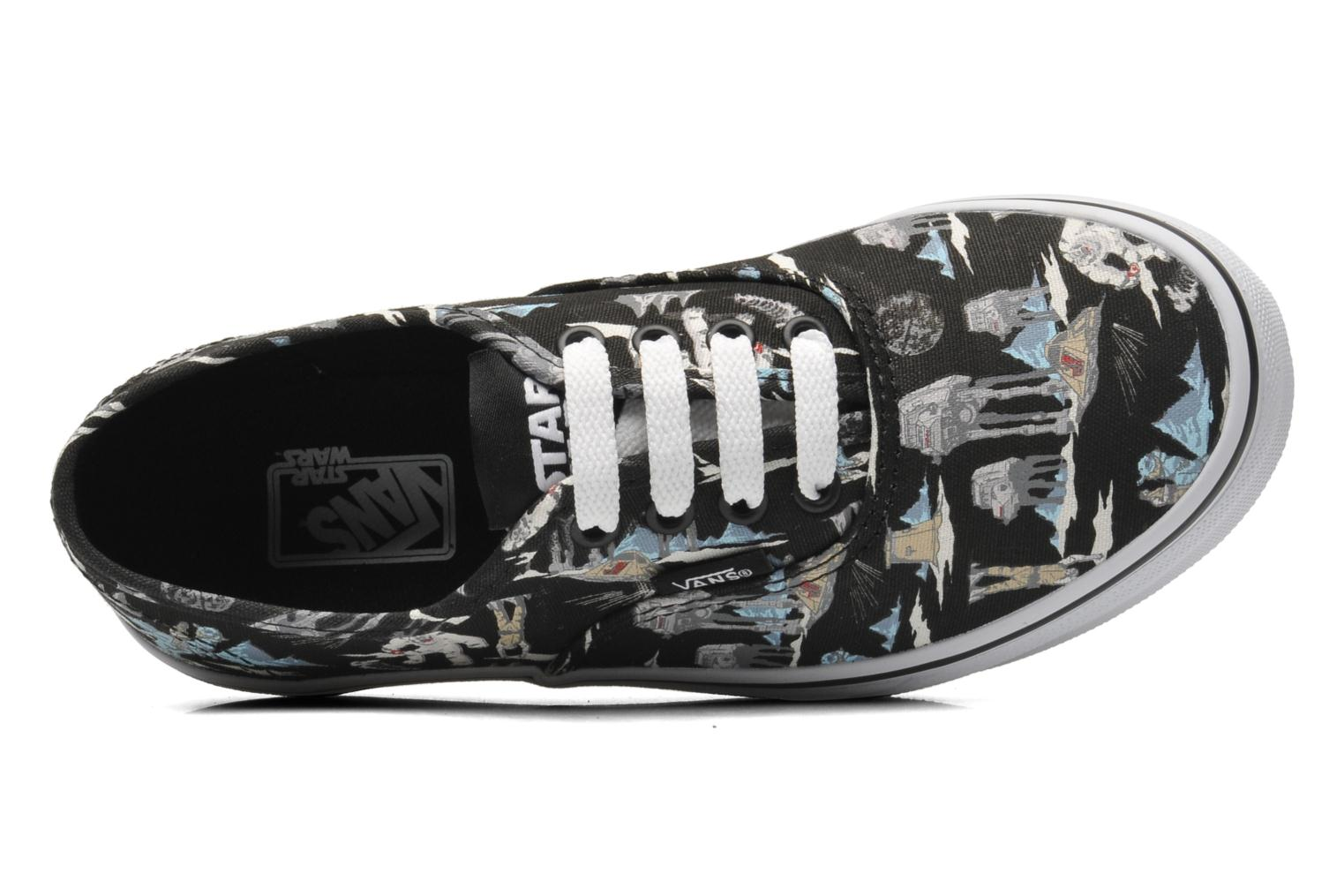 Trainers Vans Authentic E Multicolor view from the left