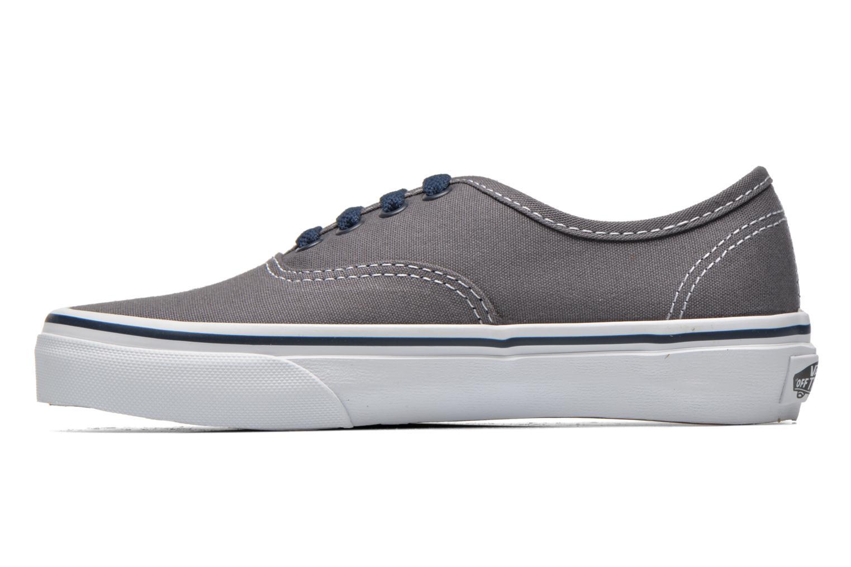 Sneaker Vans Authentic E grau ansicht von vorne