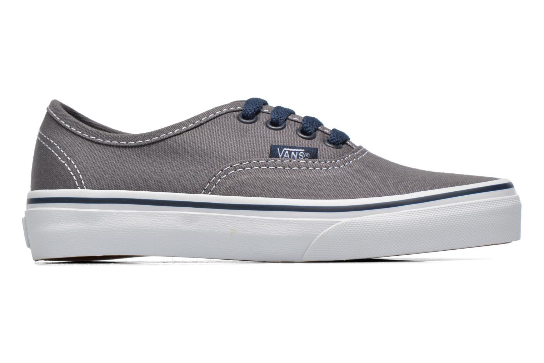 Sneaker Vans Authentic E grau ansicht von hinten