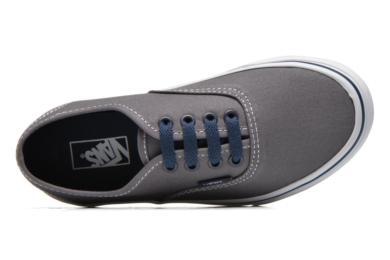 Sneaker Vans Authentic E grau ansicht von links