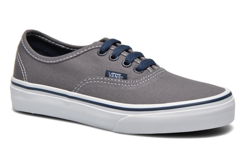 Sneaker Vans Authentic E grau detaillierte ansicht/modell