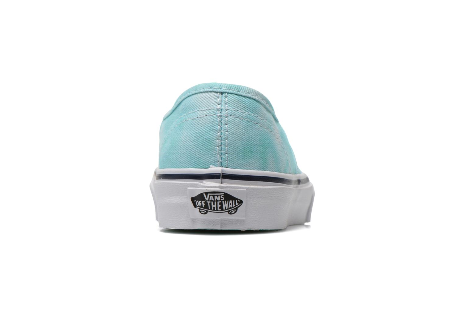 Sneakers Vans Authentic E Blauw rechts