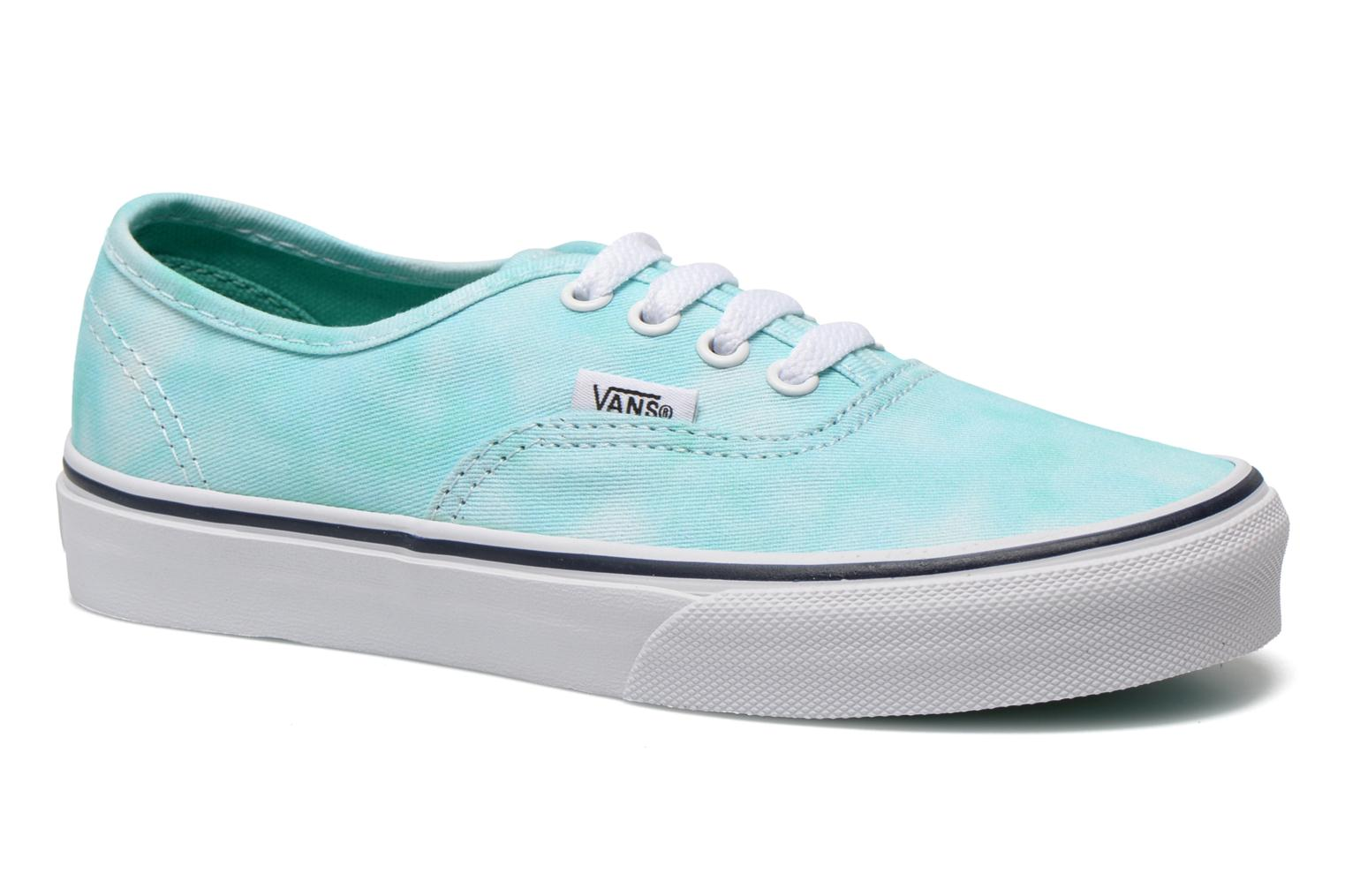 Sneakers Vans Authentic E Blauw detail