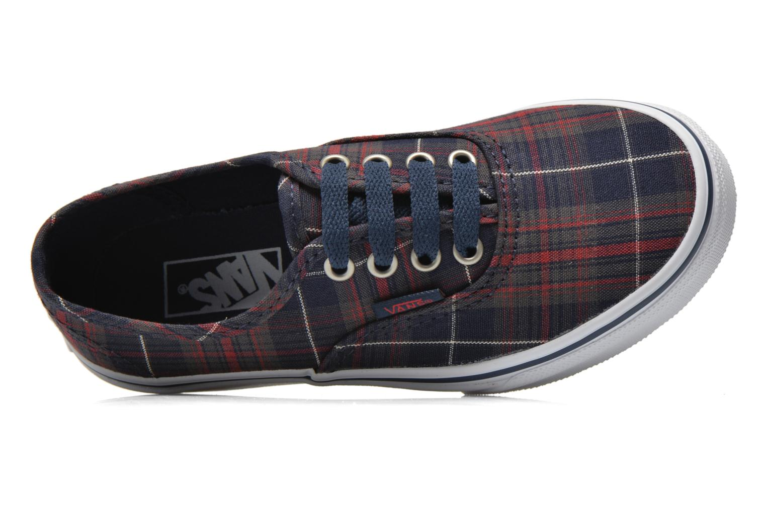 Sneakers Vans Authentic E Blauw links