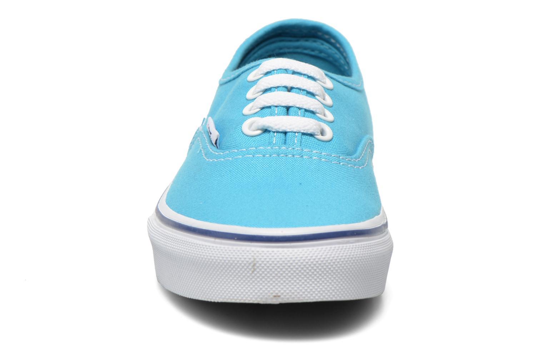 Trainers Vans Authentic E Blue model view
