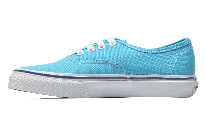 Baskets Vans Authentic E Bleu vue face