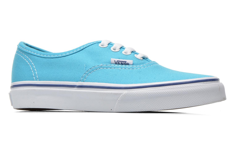 Sneaker Vans Authentic E blau ansicht von hinten