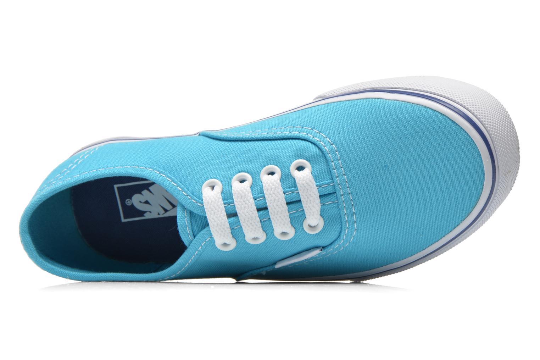 Sneaker Vans Authentic E blau ansicht von links