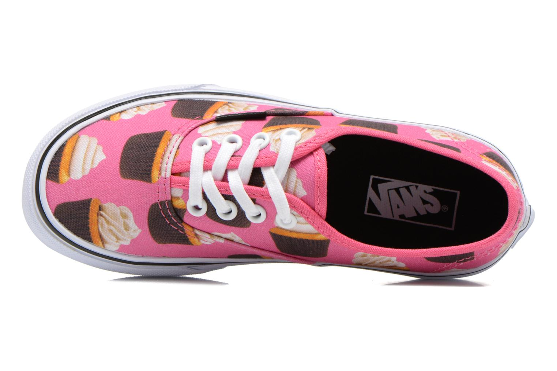 Sneaker Vans Authentic E rosa ansicht von links