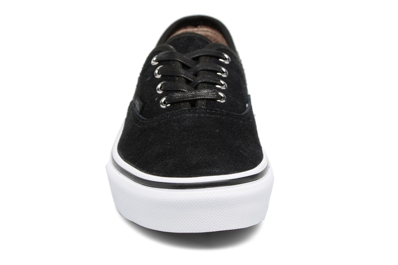 Sneaker Vans Authentic E schwarz schuhe getragen