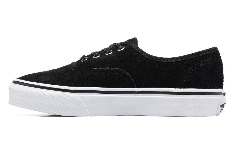 Sneakers Vans Authentic E Zwart voorkant
