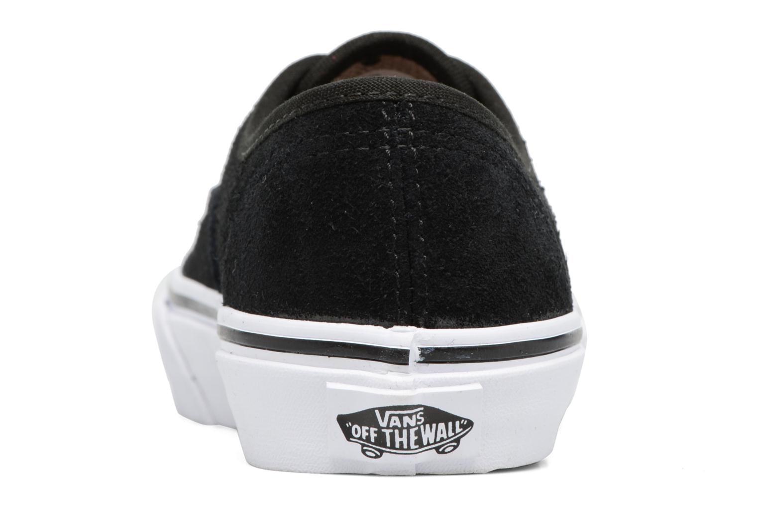 Deportivas Vans Authentic E Negro vista lateral derecha