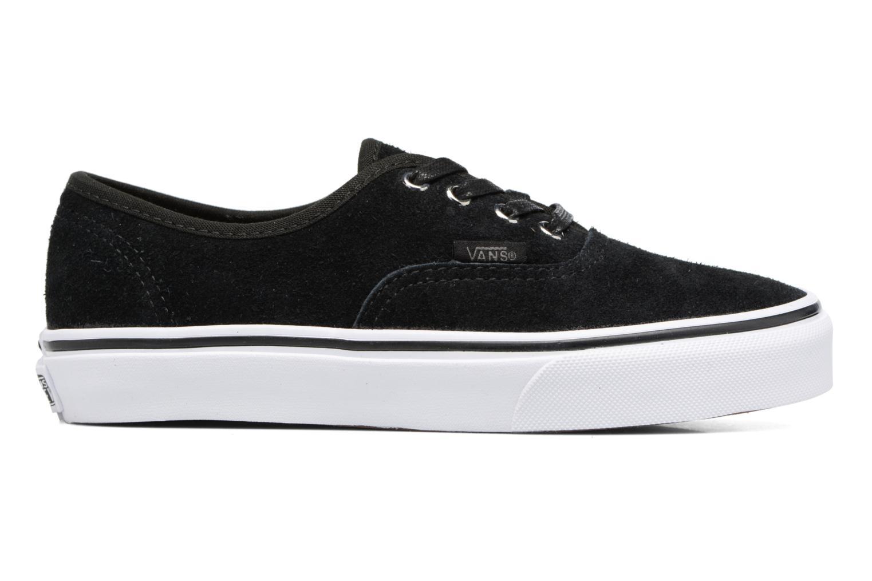 Sneaker Vans Authentic E schwarz ansicht von hinten
