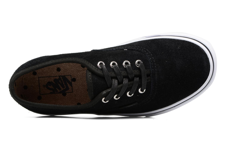 Sneakers Vans Authentic E Zwart links
