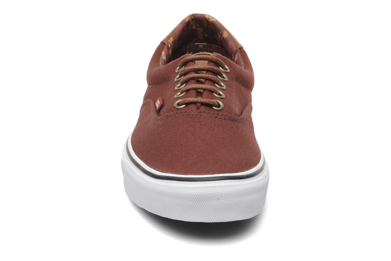 Baskets Vans Era 59 Marron vue portées chaussures