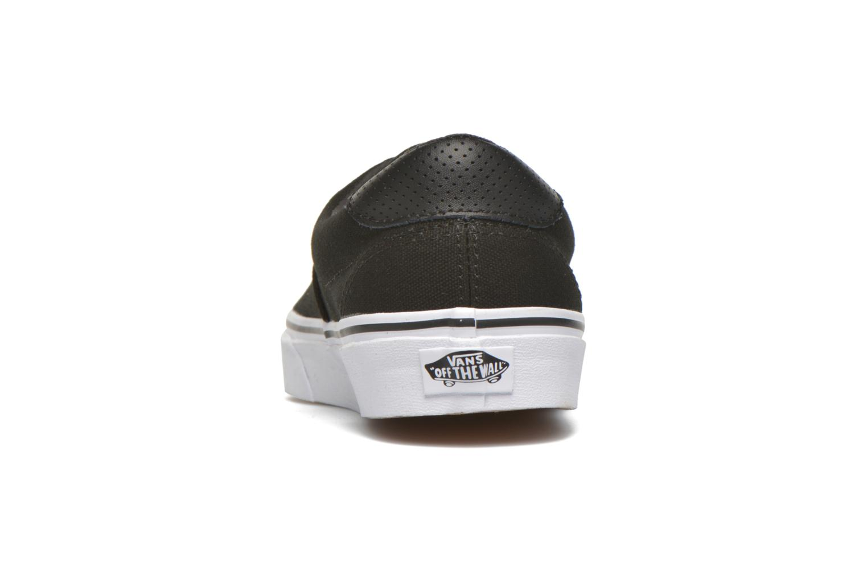 Baskets Vans Era 59 Noir vue droite