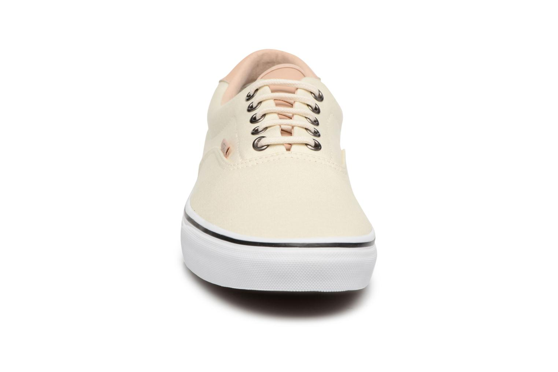 Sneaker Vans Era 59 weiß schuhe getragen