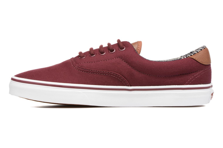 Sneaker Vans Era 59 weinrot ansicht von vorne