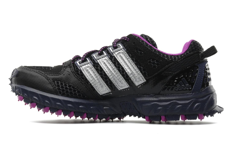 Sportschuhe Adidas Performance Kanadia 4 tr w schwarz ansicht von vorne