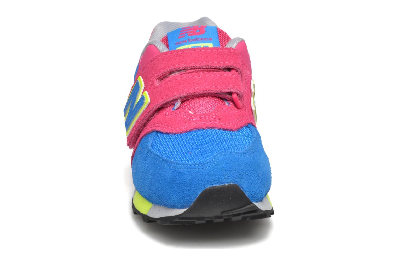 Sneaker New Balance Kv574NEI rosa schuhe getragen