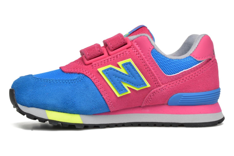 Sneaker New Balance Kv574NEI rosa ansicht von vorne