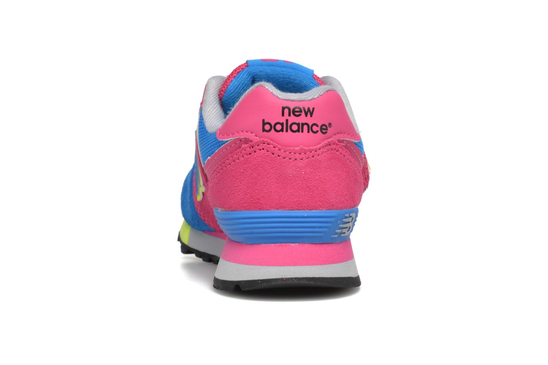 Sneaker New Balance Kv574NEI rosa ansicht von rechts