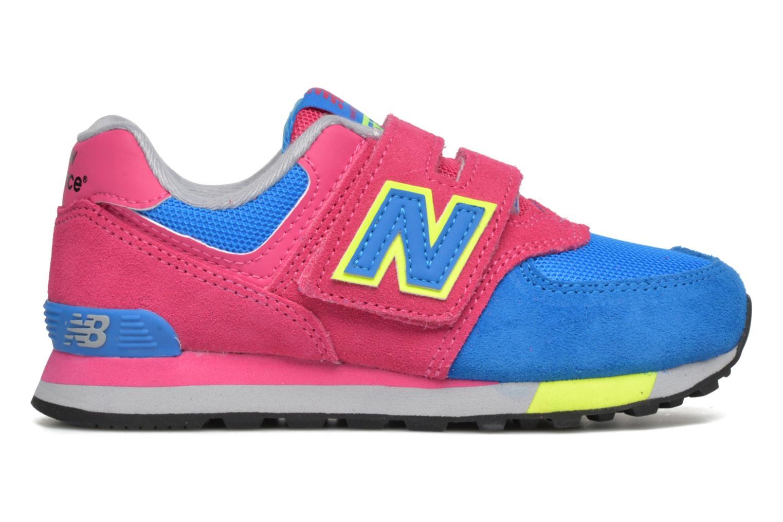 Sneaker New Balance Kv574NEI rosa ansicht von hinten