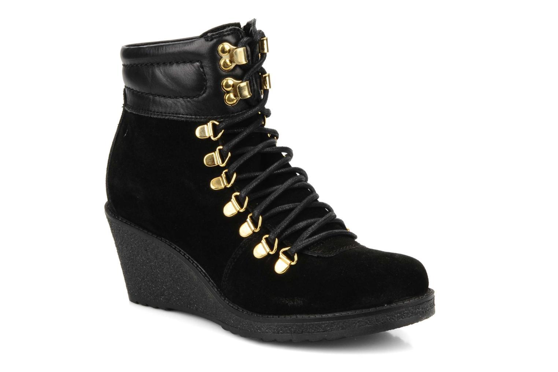 Bottines et boots Carvela Sierra Noir vue détail/paire