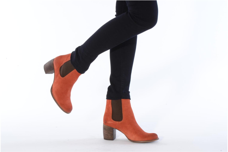 Bottines et boots Jeffrey Campbell Areas Orange vue bas / vue portée sac