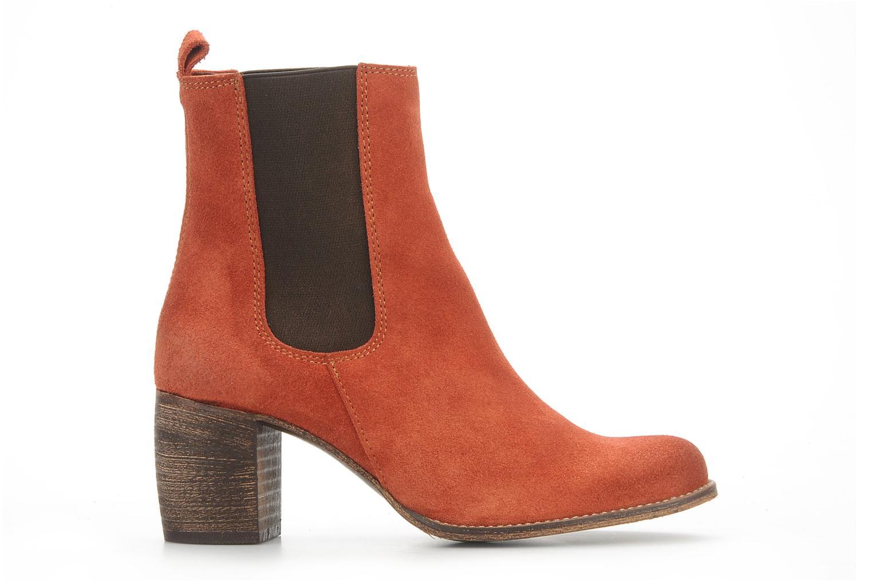 Bottines et boots Jeffrey Campbell Areas Orange vue derrière