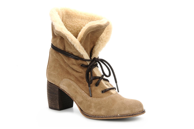 Bottines et boots Jeffrey Campbell Azure Beige vue détail/paire