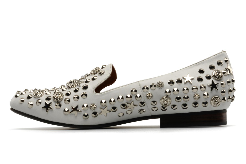 Elegant studs White Silver