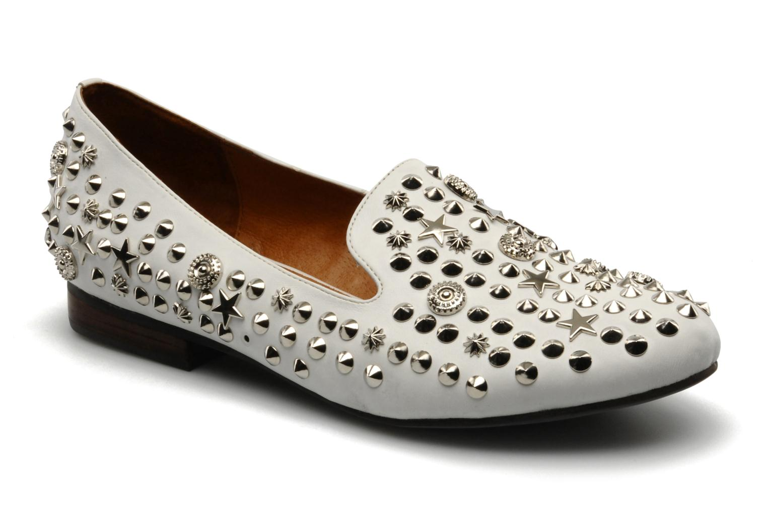 Mocassins Jeffrey Campbell Elegant studs Wit detail