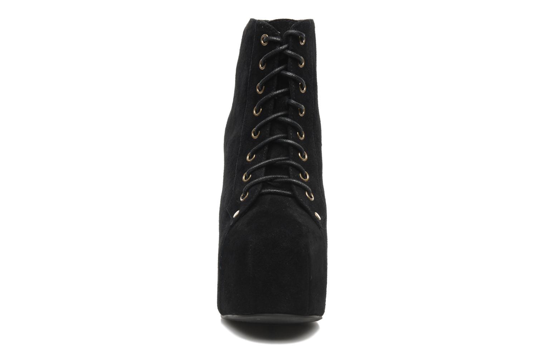 Bottines et boots Jeffrey Campbell Lita Noir vue portées chaussures
