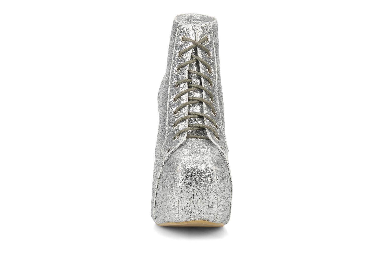 Bottines et boots Jeffrey Campbell Lita Argent vue portées chaussures
