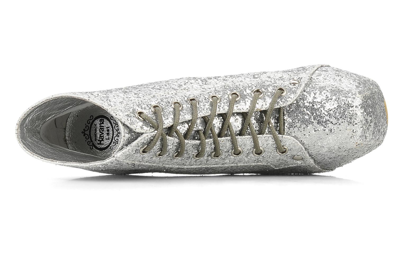 Stiefeletten & Boots Jeffrey Campbell Lita silber ansicht von links