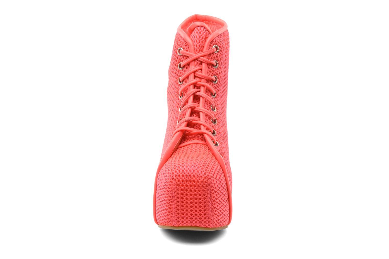Stiefeletten & Boots Jeffrey Campbell Lita rosa schuhe getragen