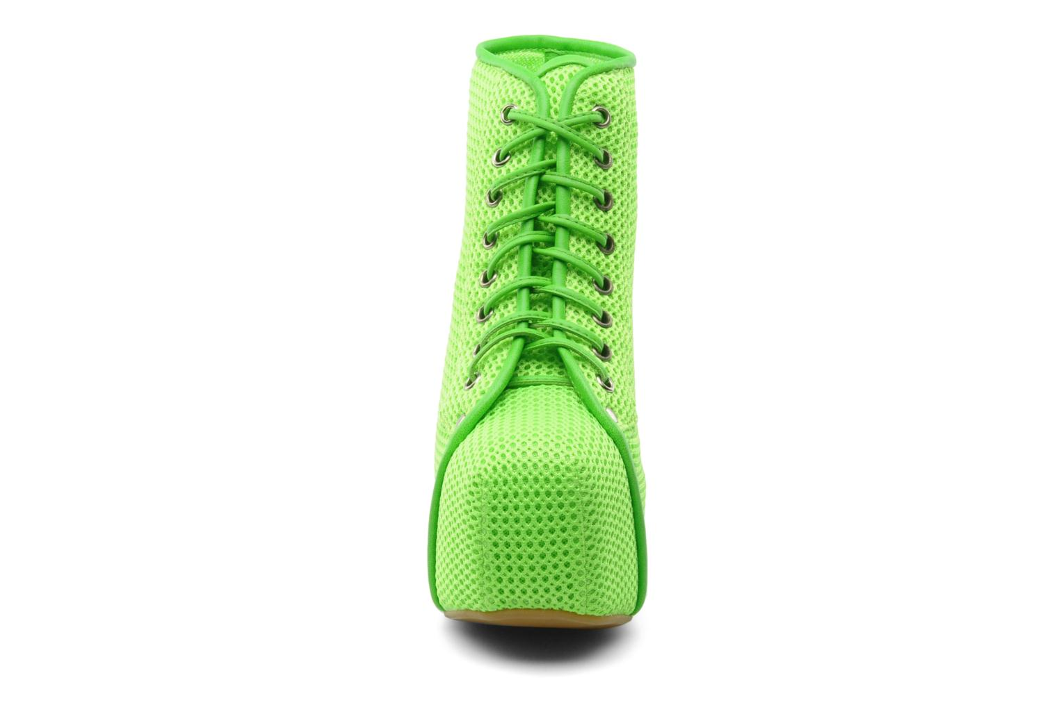 Ankle boots Jeffrey Campbell Lita Green model view