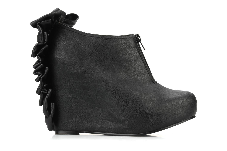 Bottines et boots Jeffrey Campbell Back bow Noir vue derrière