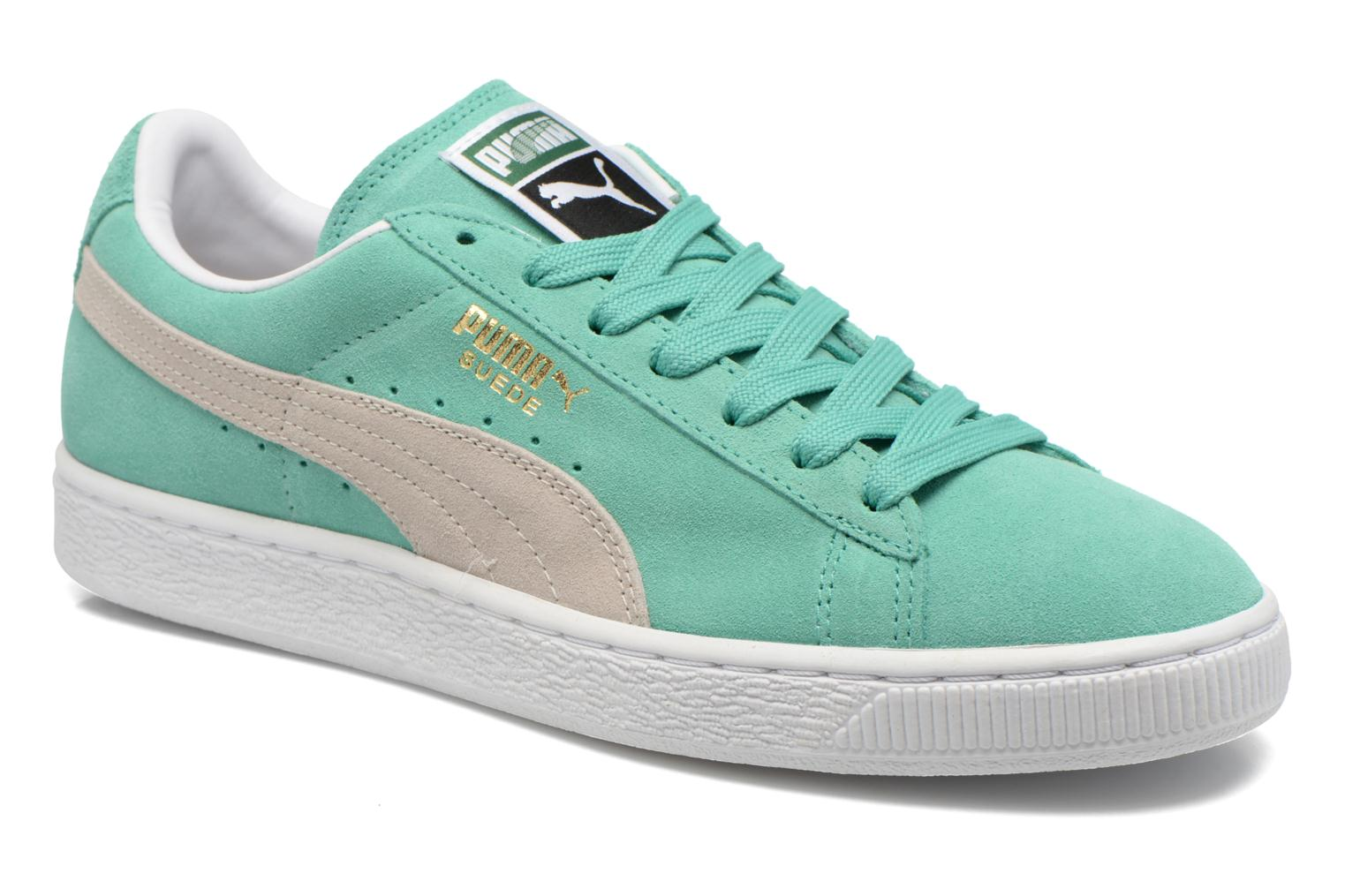 Suede Classic + Green