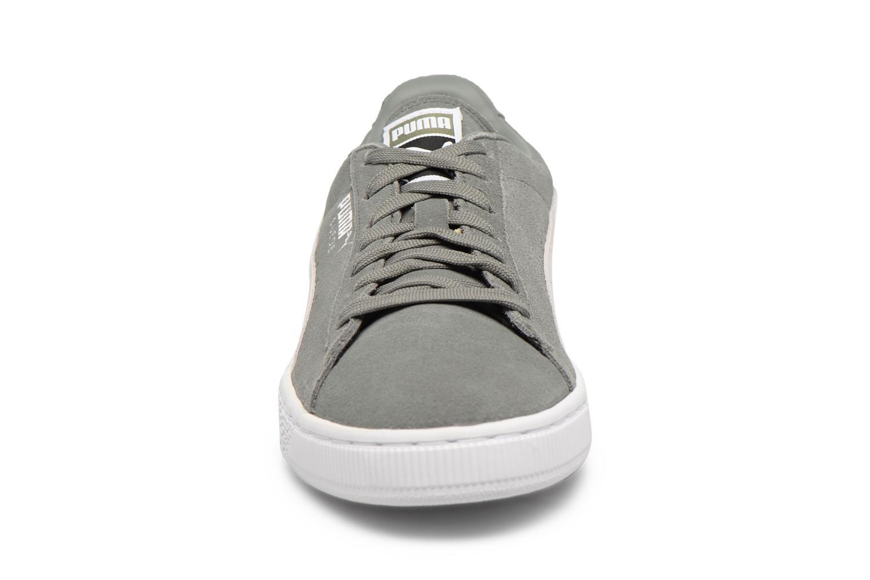 Sneaker Puma Suede Classic + grau schuhe getragen
